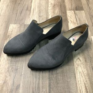 Nine West Gray Lindeno Slip-on Loafers 8